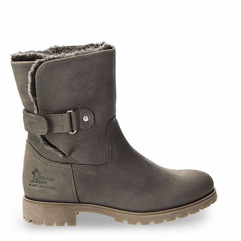 Panama Jack Grey Foldover Boot - Grey