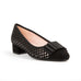 Le Babe Black and Silver Shoe 3428