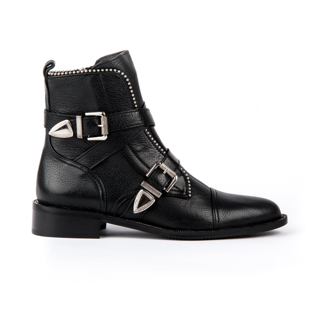 Evaluna Buckle Ankle Boot 1871