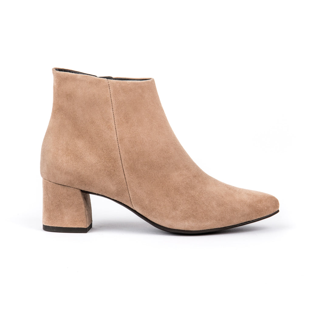Paul Green Suede Ankle Boot 9647