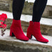 Paul Green Suede Ankle Boot 8997