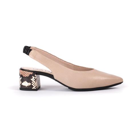 Gadea Block Heel Shoe 1153