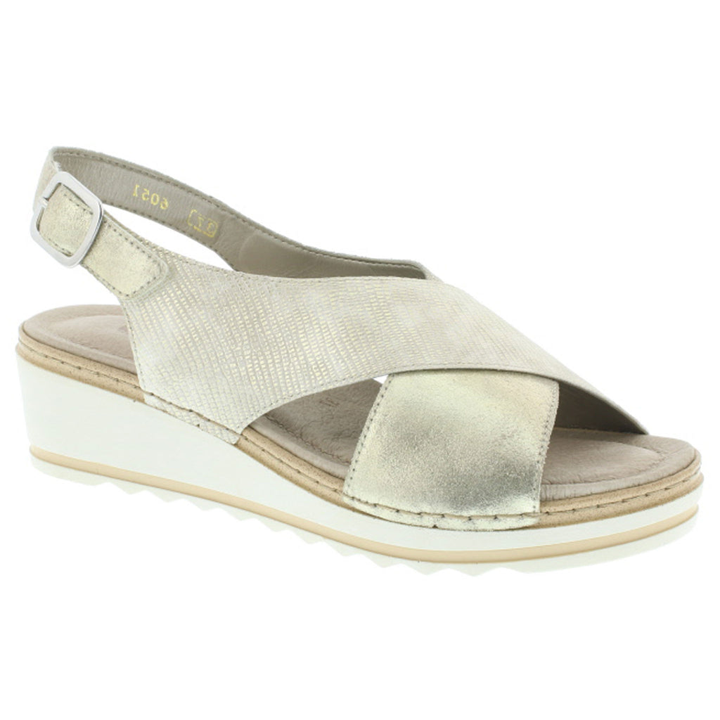 Remonte Gold Wedge Sandal R6051