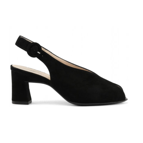 Peter Kaiser Black Sling Back 85113 Side view
