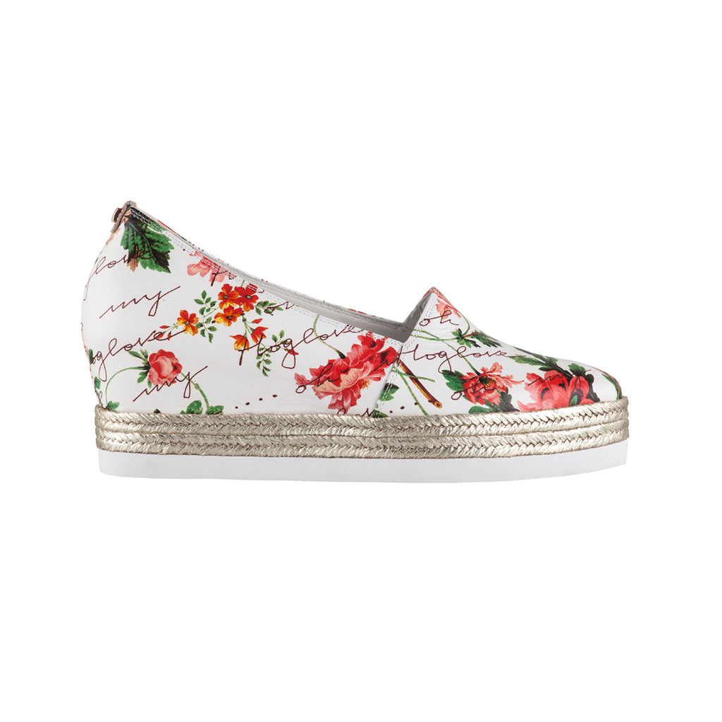 Hogl Floral Slip On Shoe 104406