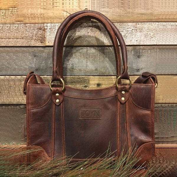 JOYN Sarita Brown Leather Handbag