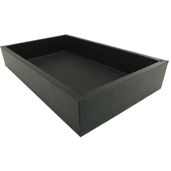 black display trays