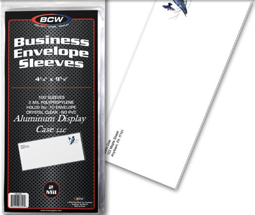 business envelope sleeves
