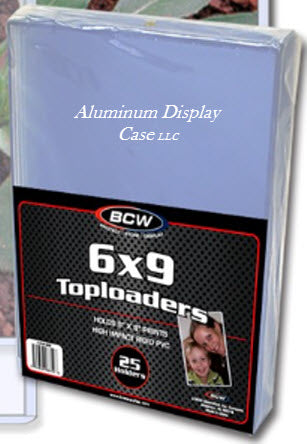 "25 BCW 6x9"" Toploaders for Photos Various Sizes"
