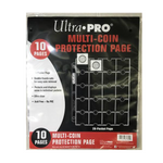 20-Pocket Ultra Pro Platinum Page for Coins and Tokens