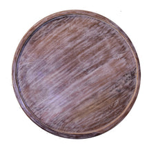 Load image into Gallery viewer, Andrea_Solid Indian Wood Carved Round Coffee Table
