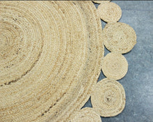 Load image into Gallery viewer, Chloe_Handmade Natural Fiber Jute Rug