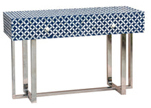 Load image into Gallery viewer, Eddie_Bone Inlay Console Table