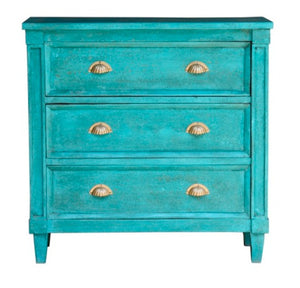 Marsha_Solid Indian Wood Chest with Three Drawers