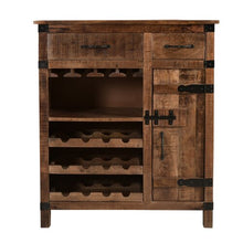 Load image into Gallery viewer, Canto_Solid Wood Bar Cabinet_Wine Cabinet