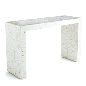 Alba Bone Inlay Console Table