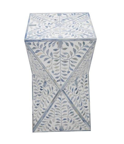 Jason Bone Inlay Stool