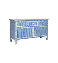 Load image into Gallery viewer, Jamey Bone Inlay  Sideboard with 3 Drawers & 2 doors
