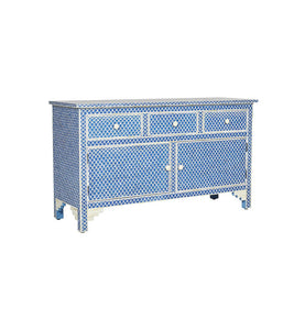 Jamey Bone Inlay  Sideboard with 3 Drawers & 2 doors