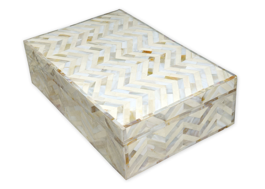 Jean Mother of Pearl Box
