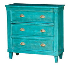 Load image into Gallery viewer, Marsha_Solid Indian Wood Chest with Three Drawers
