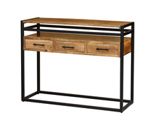 Load image into Gallery viewer, Willa Industrial Console Table