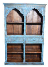 Load image into Gallery viewer, Blue Niv_Wooden Bookshelf_Bookcase_Display Unit