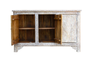 Remi Hand Carved Wooden Sideboard_Buffet