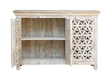 Load image into Gallery viewer, Wren Hand Carved Indian Wood Sideboard_Buffet