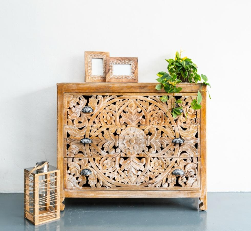 Cheloe_Wooden Chest of Drawer_Cabinet