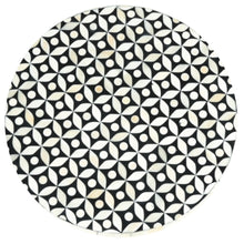 Load image into Gallery viewer, Stuart_Bone Inlay Round Stool