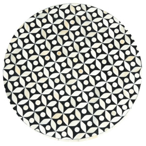 Stuart_Bone Inlay Round Stool