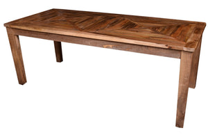 Gorgo Solid Indian Wood 6 seater Dining Table