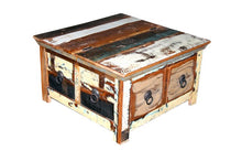 Load image into Gallery viewer, Daylan_Solid Indian Wood Coffee Table with Storage