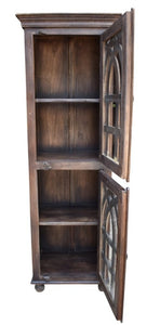 Jeff_Bookcase with Two Door_Bookshelf_Display Unit