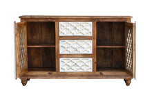 Load image into Gallery viewer, Emory Wooden Sideboard_Buffet_Chest with 3 Doors & 2 Drawers_Cabinet