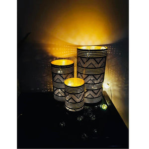 Markle  Hurricane Candle Holder Set of 3