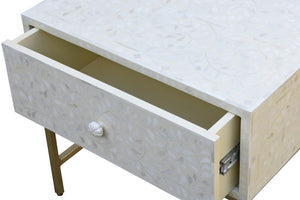Rivia_Bone Inlay Bed Side Table