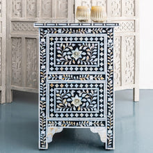 Load image into Gallery viewer, Josh_Mother of Pearl Inlay Bed Side Table