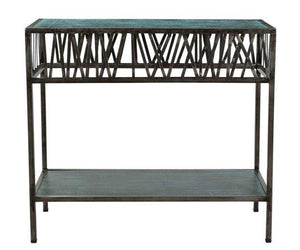 Clarke Metal Console Table