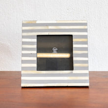 Load image into Gallery viewer, Amelia Bone Inlay Photo Frame