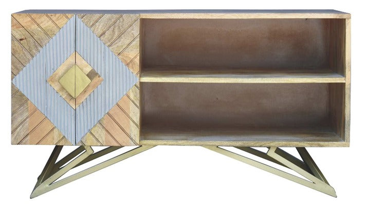 Wendy_Solid Wood TV Unit_TV Console