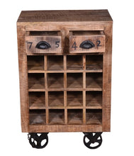 Load image into Gallery viewer, Baylee Wine Rack_Bar Cabinet
