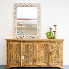 Load image into Gallery viewer, Ember Hand Carved Solid Indian Wood Sideboard