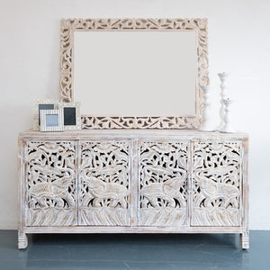 Taylor Hand Carved Wooden Sideboard_Buffet