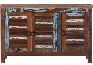 Marc_Indian Solid Wood Shoe Cabinet