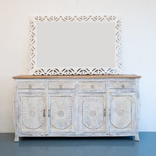 Load image into Gallery viewer, Molly Hand Carved Solid Indian Wood Sideboard_Buffet_Dresser