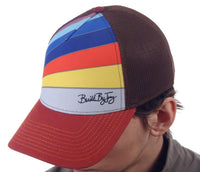 Built By Jerry | Flex Fit Snap Back Trucker Hat