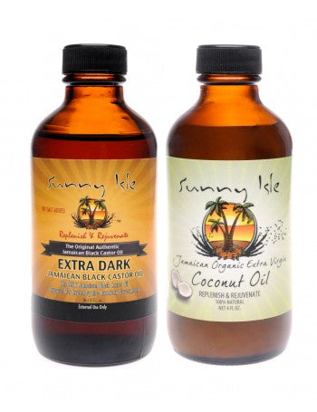 SUNNY ISLE EXTRA DARK JBCO AND COCONUT OIL BUNDLE