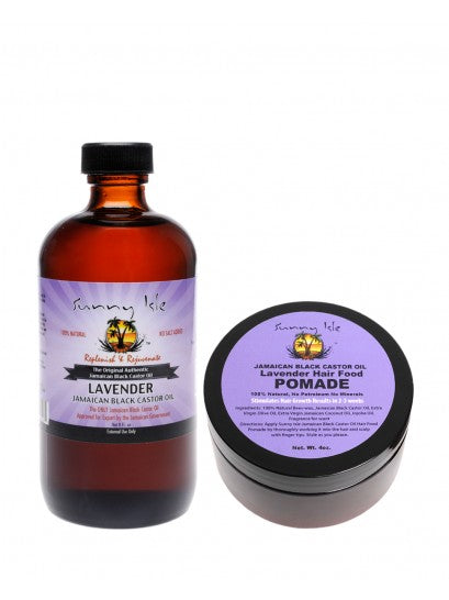 LAVENDER SUNNY ISLE POMADE AND OIL BUNDLE